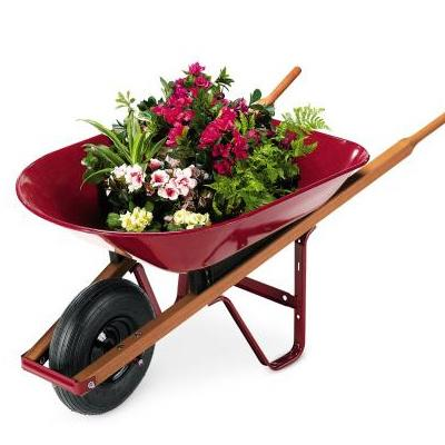 Steel Homeowner Wheelbarrow - 4 Cubic Foot