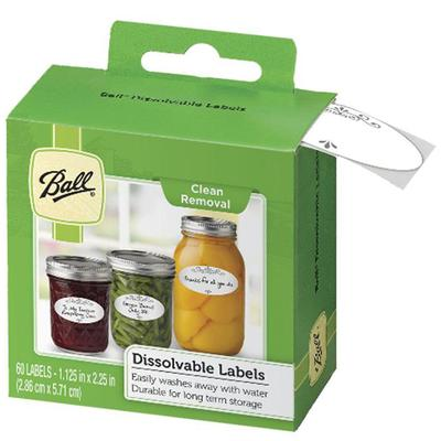 Dissolvable Canning Labels (60 Pack)