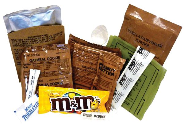 Case Of 12 Mre's With Heaters