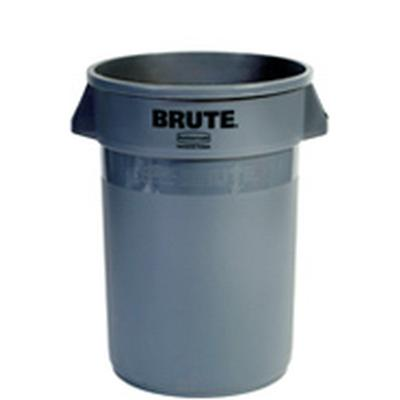 Brute 32 Gallon Gray Trash Can
