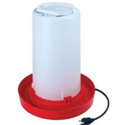 Heated 3 Gallon Plastic Poultry Fountain
