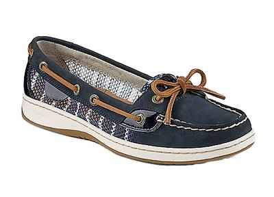 Sperry Topsider Women's Angelfish Breton Stripe Mesh Shoe