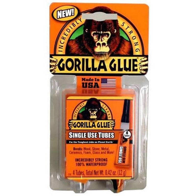 Single Use Gorilla Glue - 4pk