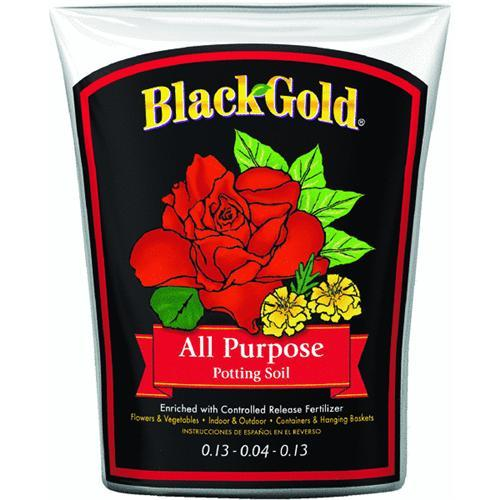 Black Gold Soils 16 Quart All Purpose Potting Soil