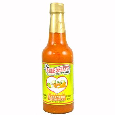 Marie Sharp's Fiery Hot Habanero Hot Sauce 5 oz