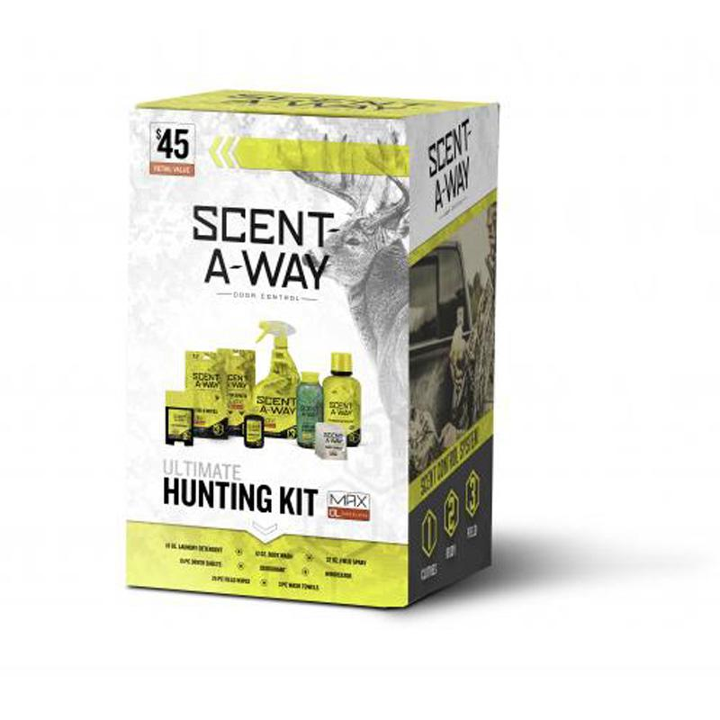 Scent- A- Way ® Max Ultimate Hunting Kit - Odorless