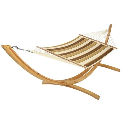 Quilted Hammock - Striped Pattern