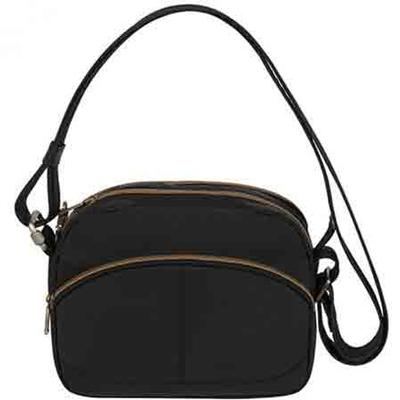 Anti-Theft Signature East/West Shoulder Bag