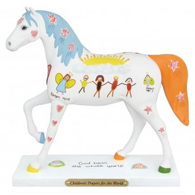 Children's Prayers Horse Figurine