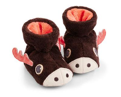 Toddler's Easy Critter Bootie Slippers