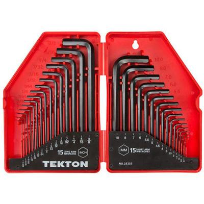 30-pc Hex Key Wrench Set