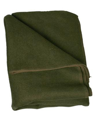 Serbian Military Wool Blanket