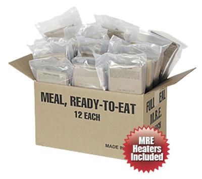 Case of 12 Deluxe MRE