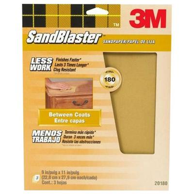 SandBlaster Paint Stripping Sandpaper Sheets 9