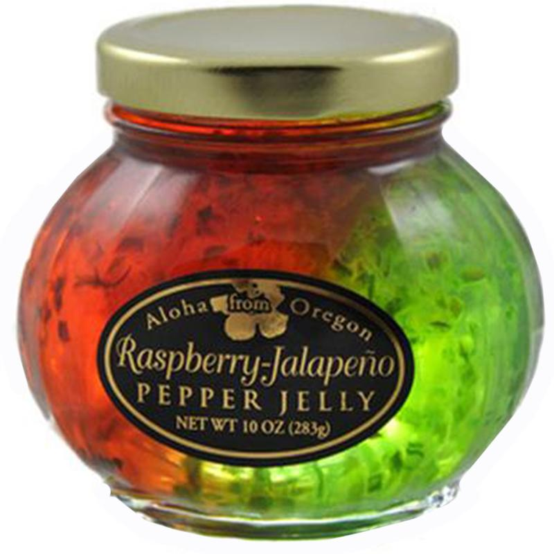 Raspberry And Jalapeño Split Pepper Jelly