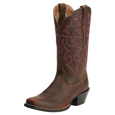 Women's Round Up Square Toe Boot
