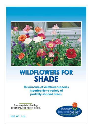 Shade Tolerant Wildflower Mix