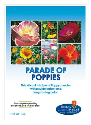 Parade of Poppies Seed Mix