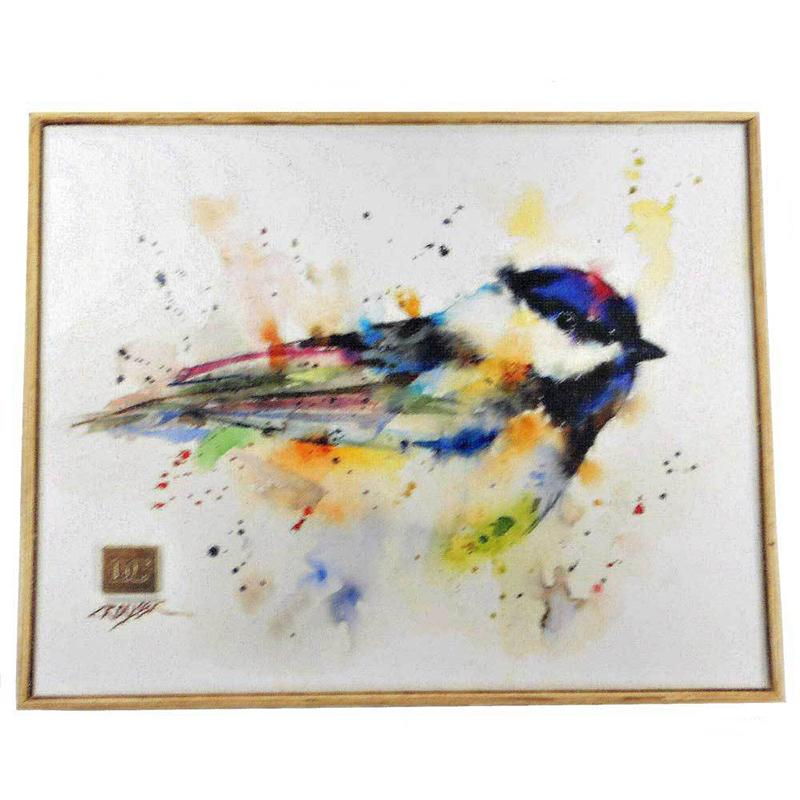 Black Cap Chickadee Wall Art