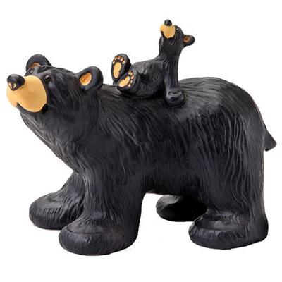 Riding Bearback Figurine