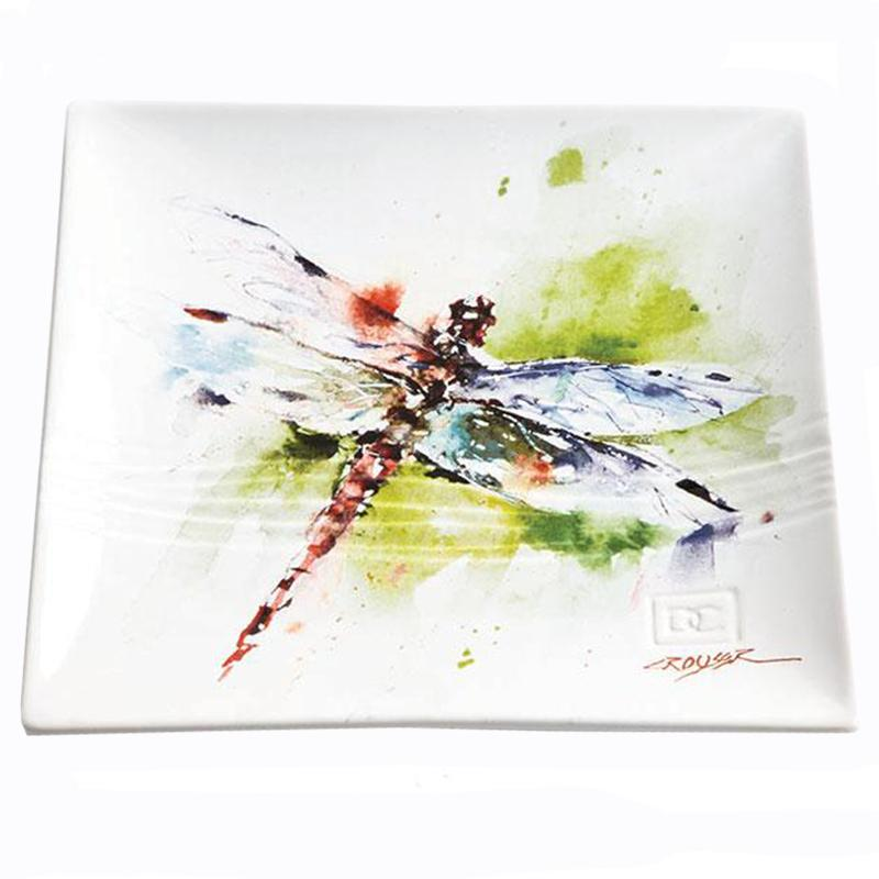 Dragonfly Snack Plate