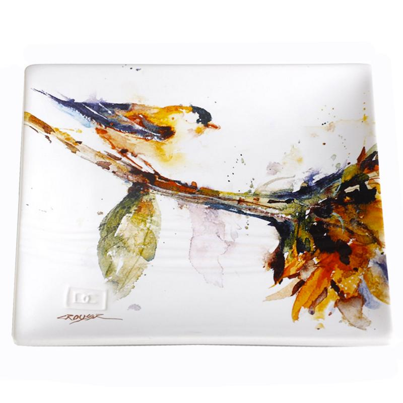 Gold Finch Snack Plate