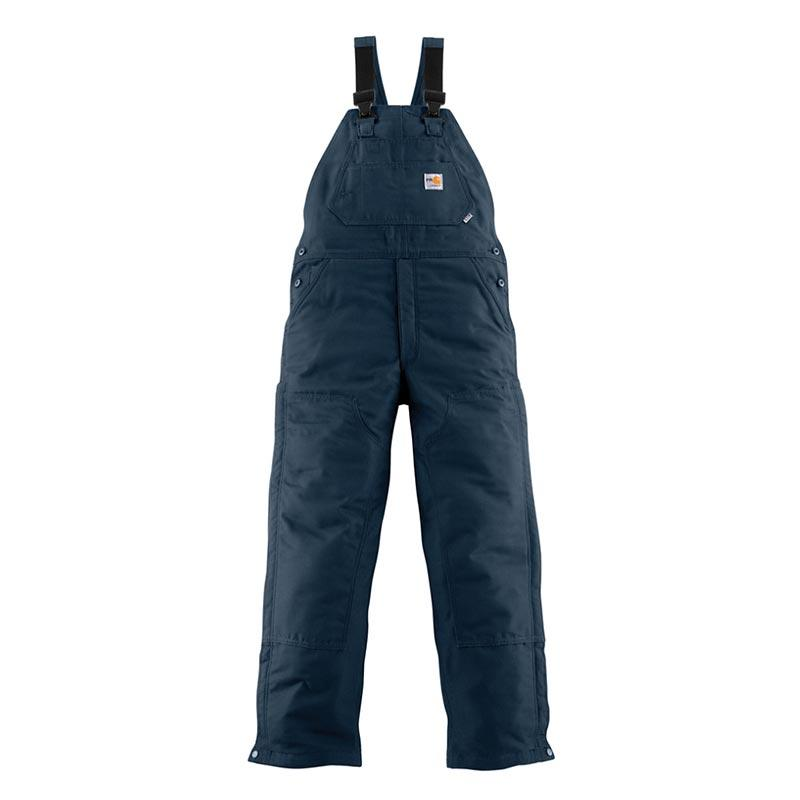 Men's Flame Resistant Quilt Lined Bib Overall