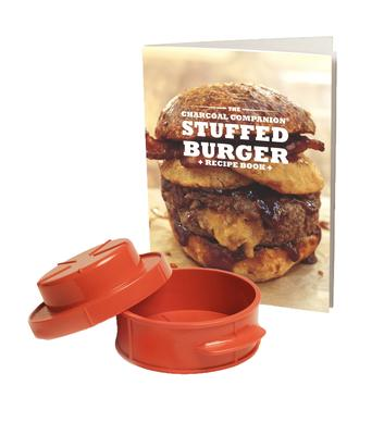 Stuffed Burger Recipe Book And Press