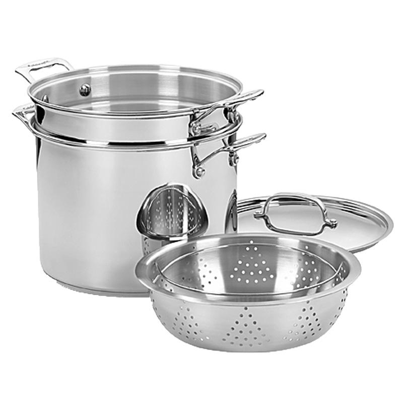 Chefs Classic Stainless Pasta/Steamer Set