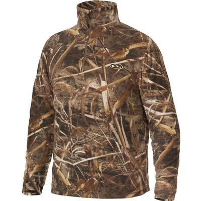 Men's Camo Camp Fleece Pullover