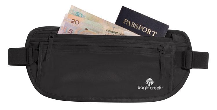 Silk Undecover Money Belt