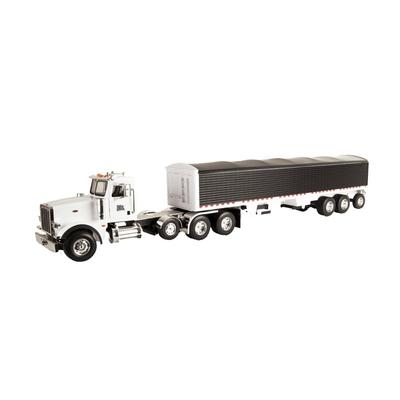 Peterbilt Semi with Grain Trailer Toy