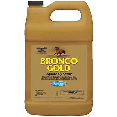 Bronco Gold Fly Spray - 1 gallon