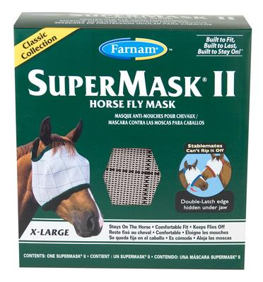 Supermask II Yearling without Ears Fly Mask