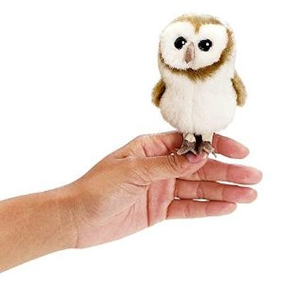 Barn Owl Mini Finger Puppet