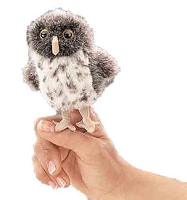 Spotted Owl Mini Puppet