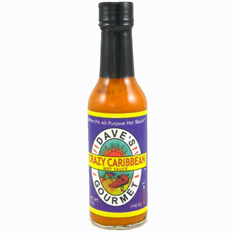 Dave's Crazy Carribean Hot Sauce