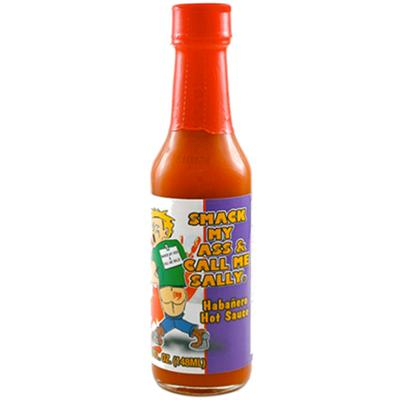 Smack My Ass and Call Me Sally Red Hot Sauce