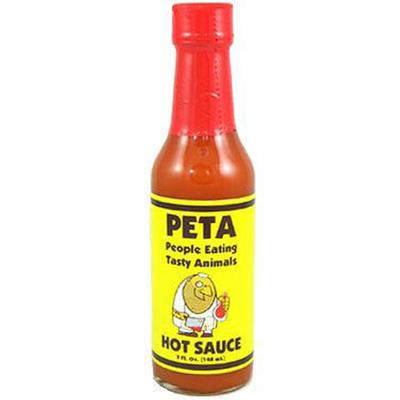 PETA Garlic Habanero Hot Sauce