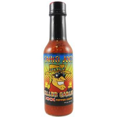 Tahiti Joe's Killer Garlic XXX Pepper Hot Sauce