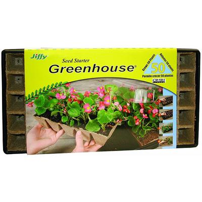 Greenhouse With 50 Jiffy Strips