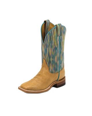 Women's Tan Boa Cowhide Boot