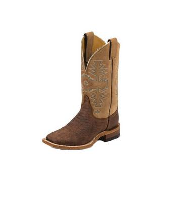 Women's Chocolate Python Cowhide 11