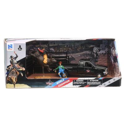 Ford F-350 Pick Up With Bull Riding Playset Toy