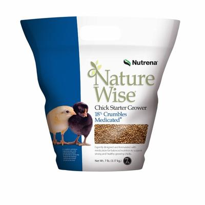 NatureWise Chick Starter Grower Feed (Medicated)