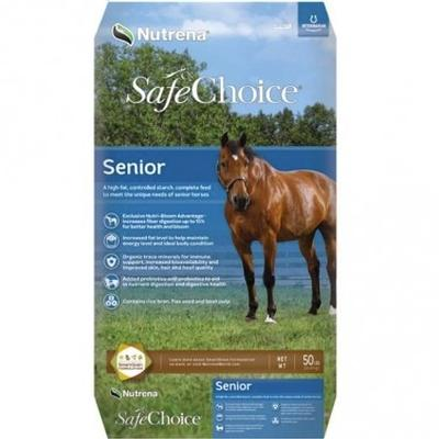 SafeChoice Senior Horse Feed - 50 lb