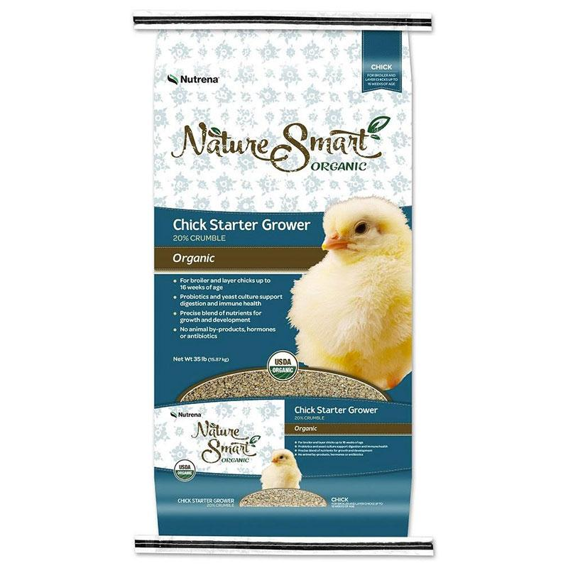 Nature Smart Chick Starter Grower Feed