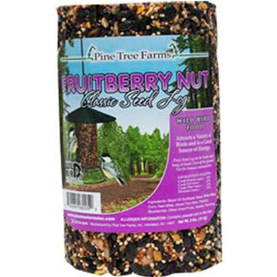 Bird Seed Fruitberry Nut Seed Log