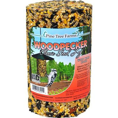 Woodpecker Bird Seed Log 40 oz