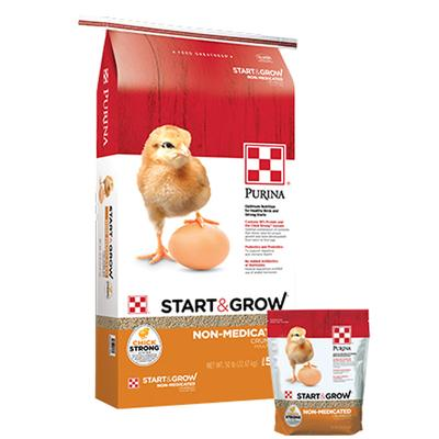 Start and Grow Non-Medicated Poultry Feed